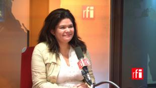 Raqel Garrido sur RFI.