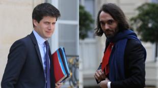 Pour le député LaREM Cédric Villani (à droite), la présence de Julien Denormandie ne garantit pas des investitures indépendantes pour la candidature à la Mairie de Paris.
