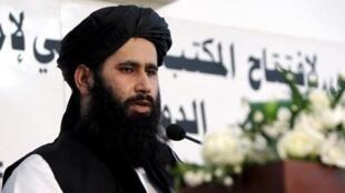 ذبیحالله مجاهد، سخنگوی گروه طالبان