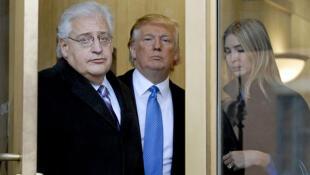 Le président élu des Etats-Unis Donald Trump a annoncé, jeudi 15 décembre 2016, la nomination comme ambassadeur en Israël de David Friedman qui a dit avoir hâte de remplir sa mission «dans la capitale éternelle d'Israël, Jérusalem» (photo datée de 2010).