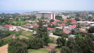 Vue de Bujumbura, au Burundi.