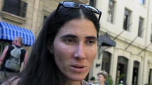 La blogueuse cubaine Yoani Sanchez à La Havane