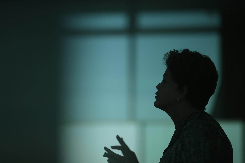 La presidenta Dilma Rousseff, Brasilia, 19 de septiembre de 2014.