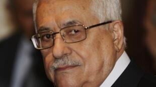 Le président de l'Autorité palestinienne, Mahmoud Abbas.