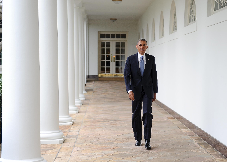 Le président américain Barack Obama, à la Maison Blanche, le 12 janvier 2016.
