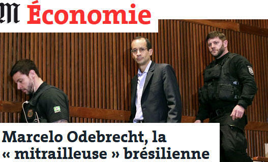 Jornal Le Monde desta terça-feira (28) publica o perfil do ex-presidente da Odebrecht.