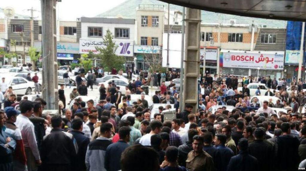 اعتصاب بازاریان کردستان