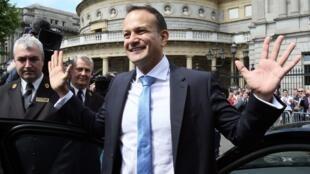 Leo Varadkar ، بطور رسمی به نخستوزیری ایرلند منصوب شد. ١٤ ژوئن ٢٠۱٧
