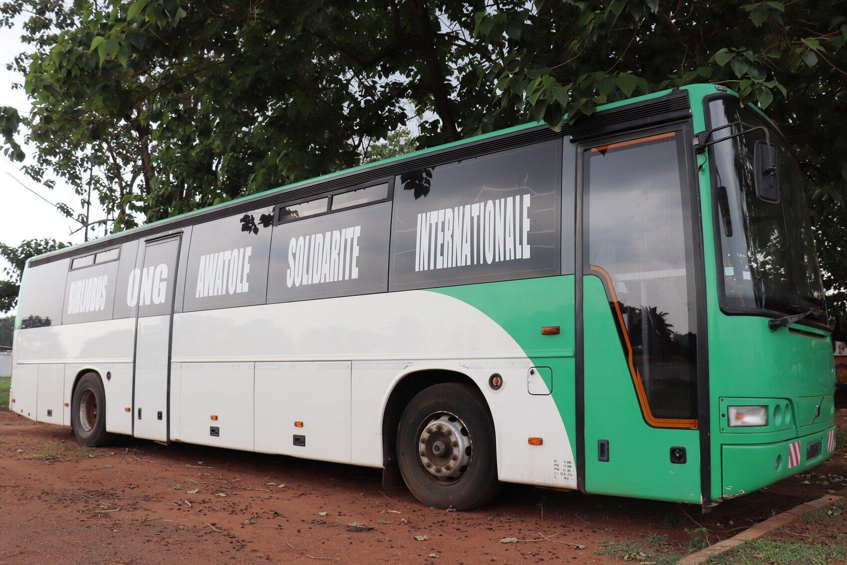 C'est l'association Awatole Solidarité Internationale qui est à l'origine du projet de bilbiobus pour Bangui.