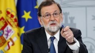西班牙首相面臨不信任投票。2018-05-25