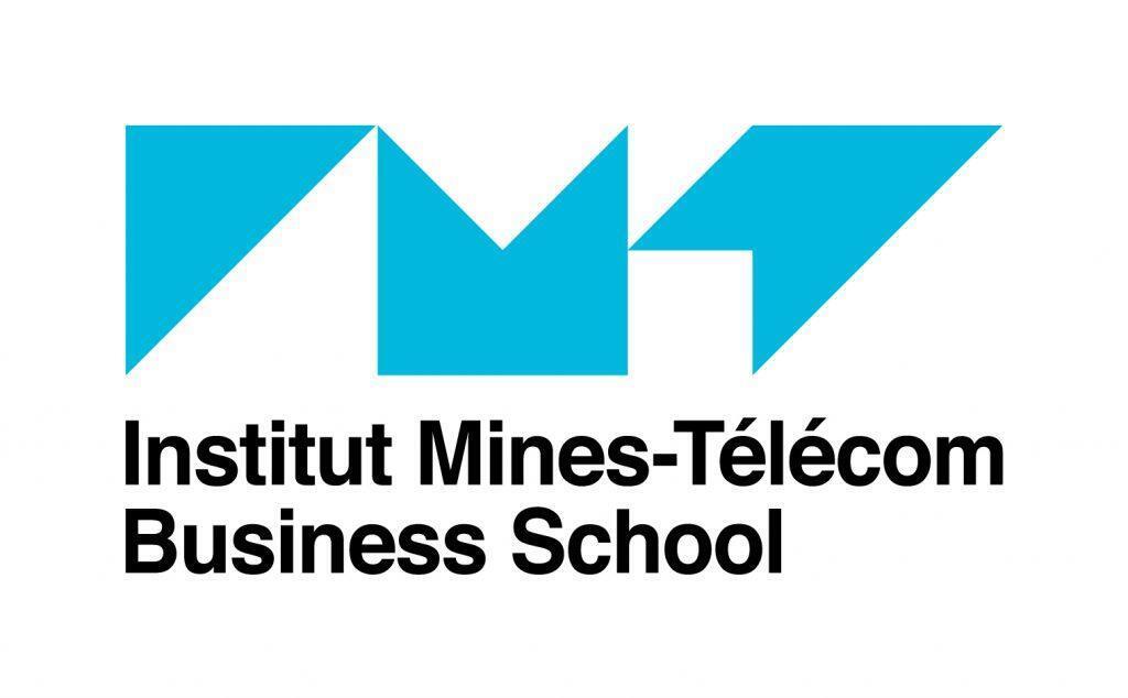 Logo de la escuela de negocios.