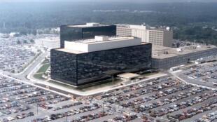 Siège de la NSA à Fort Meade, Maryland.
