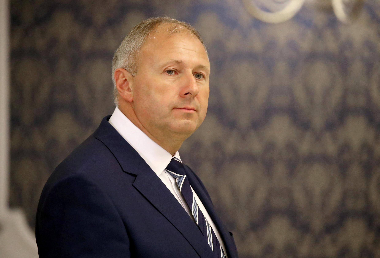 Новый премьер-министр Беларуси Сергей Румас 18 августа 2018