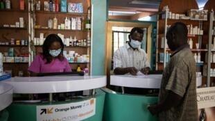 Une pharmacie de Ouagadougou, capitale du Burkina.
