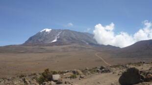 Yankin Marangu da ke kusa da tsaunin Kilimanjaro a Tanzania