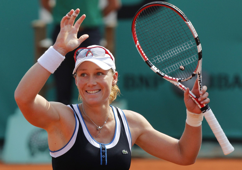 Австралийская теннисистка Саманта Стосур.