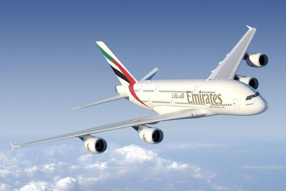 هواپیماهای A380 شرکت امارات