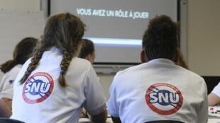 Le service national universel (SNU) doit devenir obligatoire d'ici quelques années.