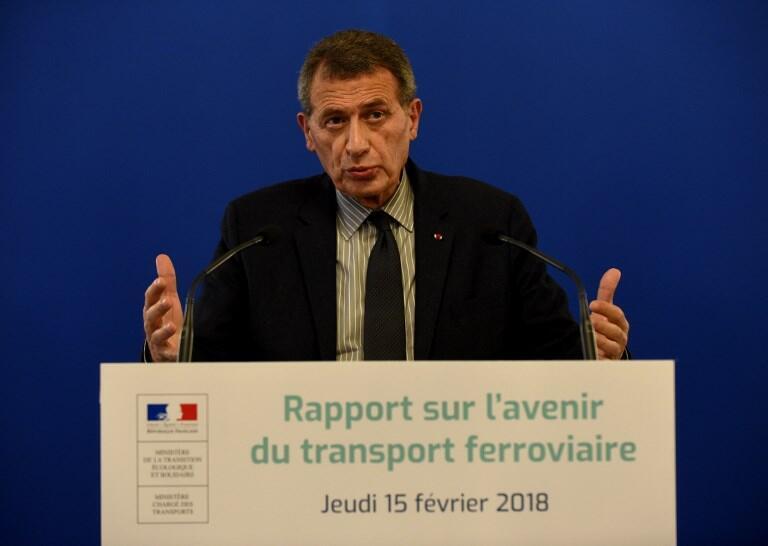 Jean-Cyril Spinetta le 15 février 2018.