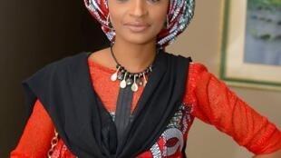 Daya daga cikin fitattun fina-finai a Najeriya Rahma Sadau