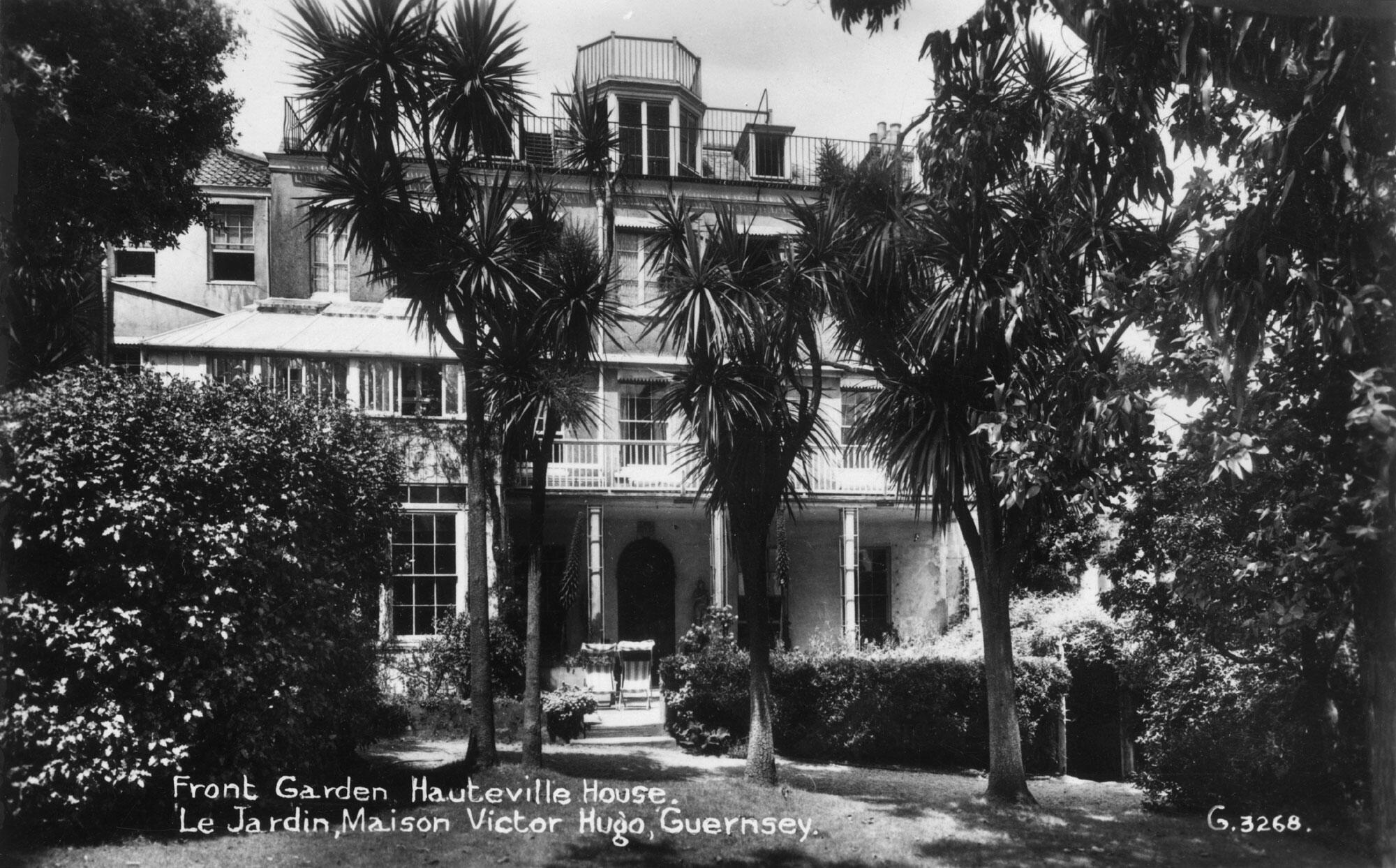 Hauteville House, Guernesey.