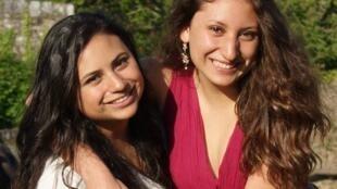Las realizadoras ecuatorianas Samantha y Estefanía Proaño