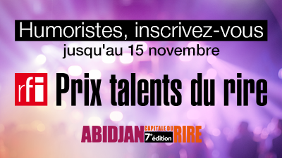 RFI Prix Talents du rire