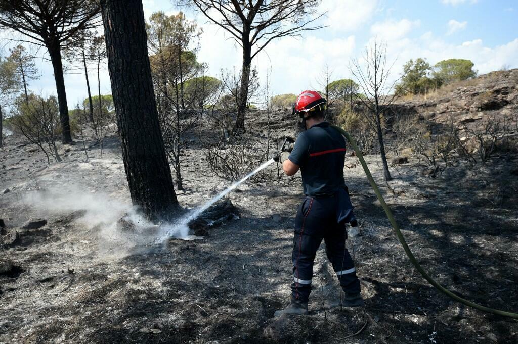 Firefighter Var wildfires