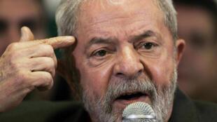 图为巴西前总统鲁拉