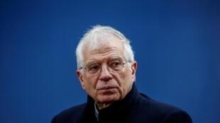 Josep Borrell, le chef de la diplomatie européenne, ici à Bruxelles, le 20 février 2020.