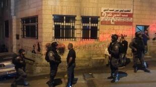 O bairro palestino Al Issawiya, em Jerusalém, sofre com policiamento ostensivo de Israel, em 19 de agosto de 2019.