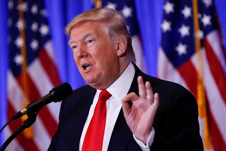 Donald Trump à New-York.