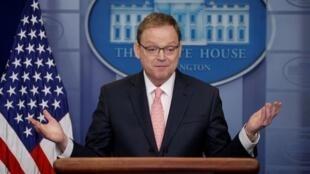 美国白宫经济顾问哈塞特资料图片