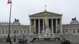El Parlamento austriaco en Viena