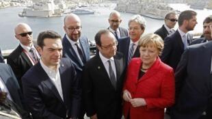 歐盟領袖在馬耳他首都瓦萊塔舉行峰會