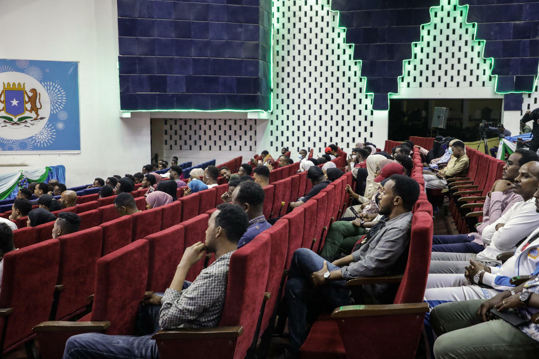 Mogadiscio - Somalie - Cinéma - Théâtre national de Mogadiscio