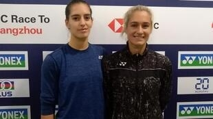 Stefani (left) and Gabriela Stoeva are ranked 10th in the world in women's doubles