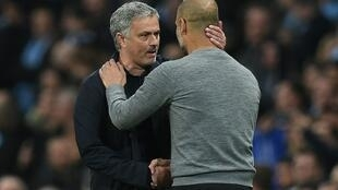 "Manchester United's Jose Mourinho believes making up a 19-point gap to Pep Guardiola's Manchester City will be ""very difficult"""