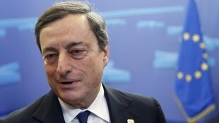 O presidente do BCE, Mario Draghi.