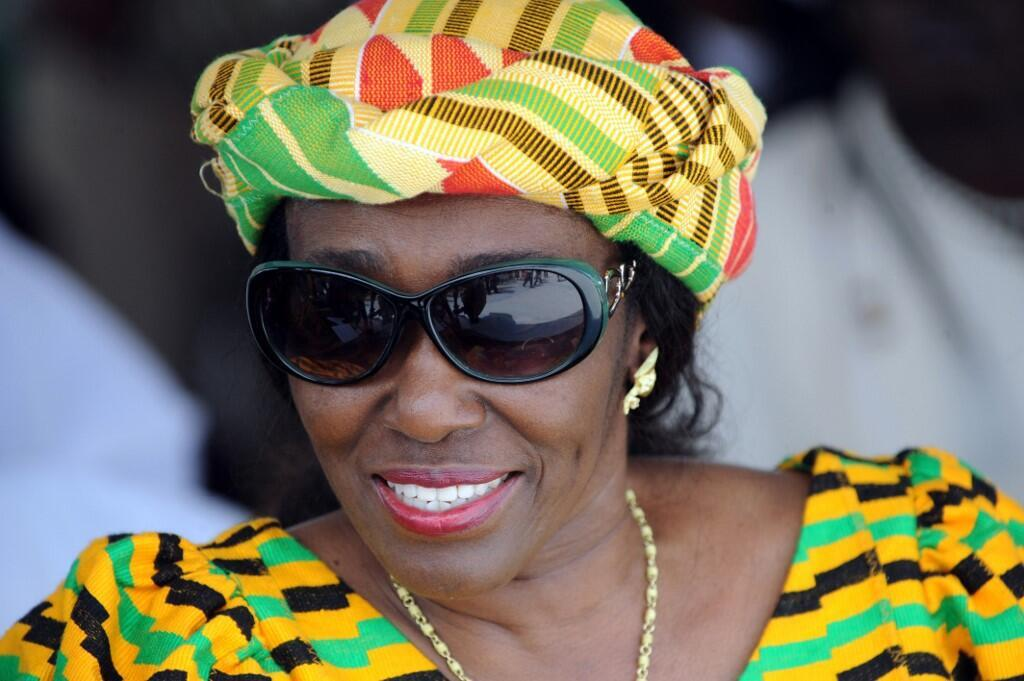 2010-11-26 ghana Nana Konadu Agyeman-Rawlings former first lady president
