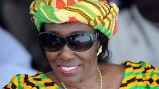 FILE PHOTO: Ghana's former first lady Nana Konadu Rawlings during a ceremony in Takoradi, 15 December 2010.