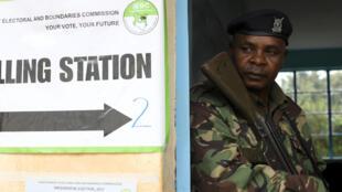 Ulinzi umeimarishwa wakati huu zoezi la kuhesabu kura likiendelea nchini Kenya.