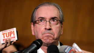 Eduardo Cunha renunció a la presidencia de la cámara de diputados el 7 de julio de 2016.