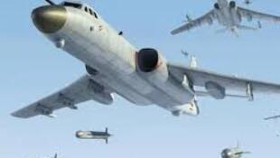 網傳中國轟6戰機