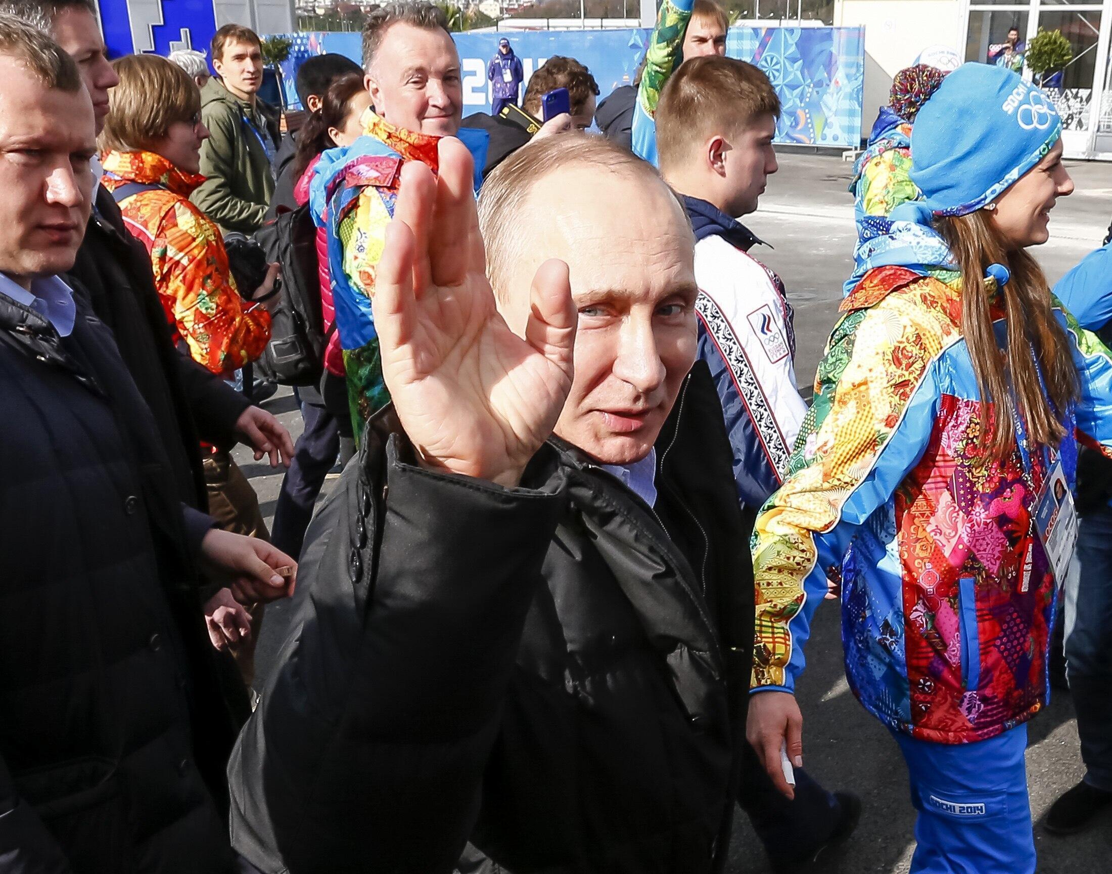 Владимир Путин в Сочи, 5 февраля 2014 год