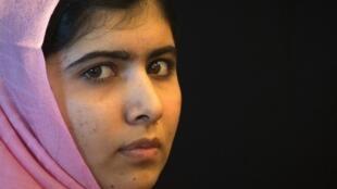 Malala Yousafzaï à New York, le 23 septembre 2013. Cible d'une attaque des talibans qui a failli la tuer, la jeune Pakistanaise est devenue le symbole de la lutte pour le droit à l'éducation dans le monde.