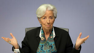 ECB President Christine Lagarde: worst may be over.