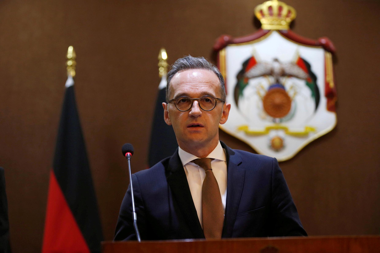 هایکو ماس وزیر امور خارجۀ آلمان فدرال