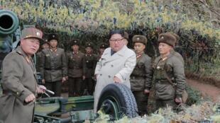 Coreia do Norte realiza exercícios de artilharia na fronteira com o Sul