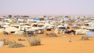 Le camp de réfugiés maliens de M'bera en Mauritanie.
